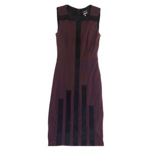 AKRIS Bergdorf Goodman Silk Cashmere Sheath Dress